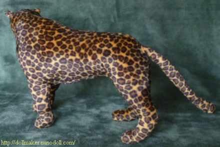 Leopard - Dollmaker Nuno Doll - SewSimple.de