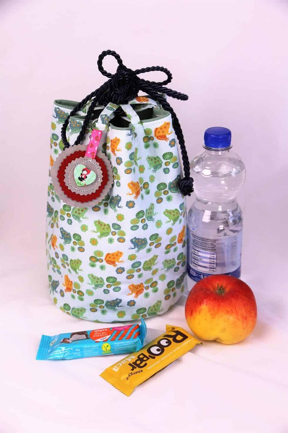 Lunch bag nähen