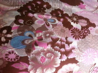 Japanese printed cotton (Spotlight, Perth)