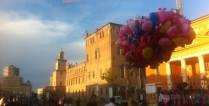Carpi just before Notte Bianca (the biggest festival of the year)