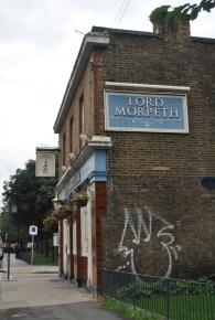 Sylvia Pankhurst's residence 1914 - 1924. 400 Old Ford Road