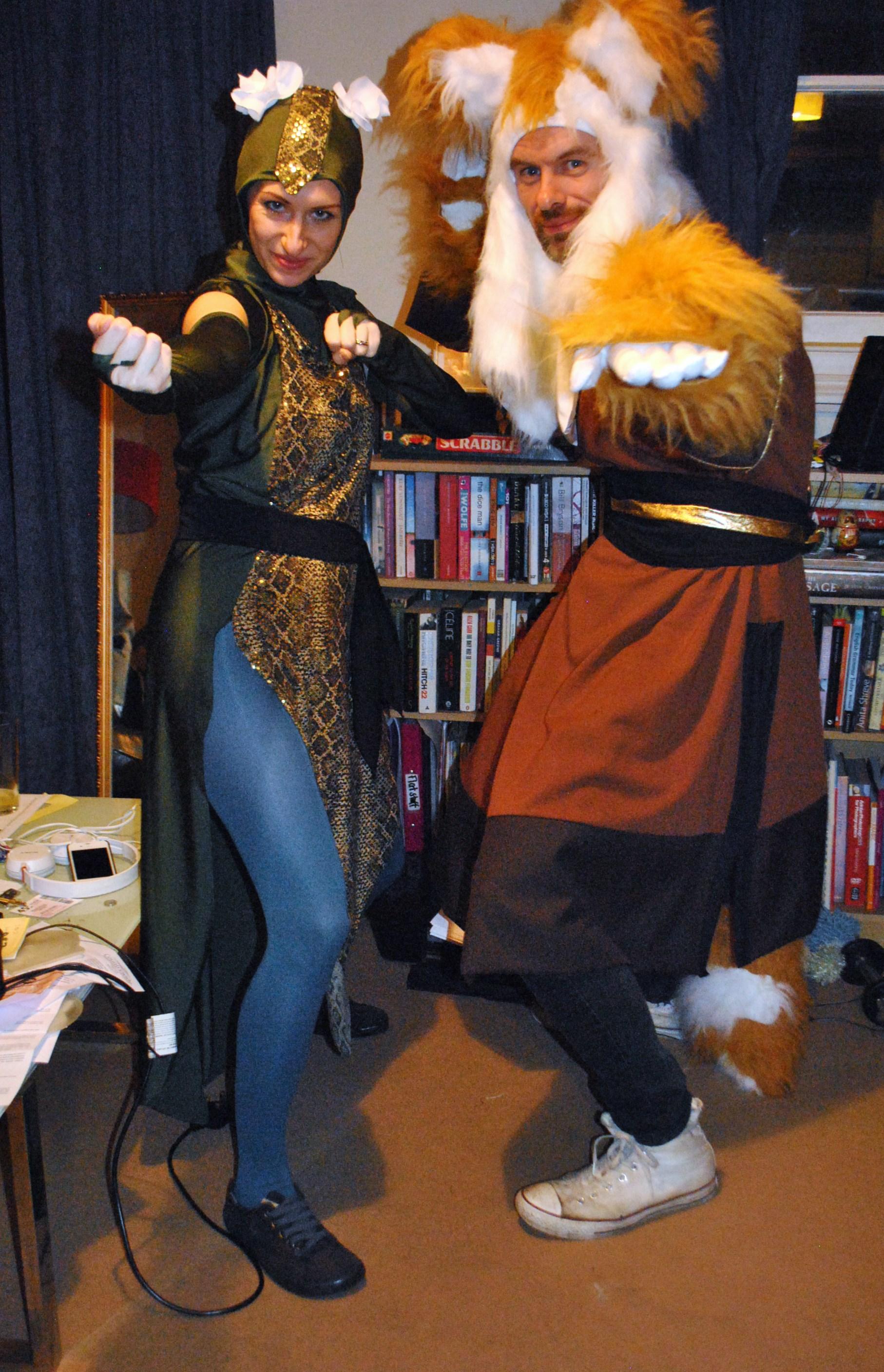 Sewing The Kung Fu Panda Costumes Snake Part 3 Of 3