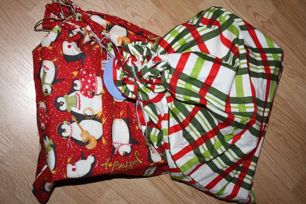 Kids Christmas Gifts Reusable Bag Christmas Gift Bags Small Gift Bags