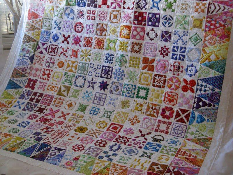 Rainbow Dear Jane Quilt - Sew Sweetness : dear jane quilt pattern - Adamdwight.com