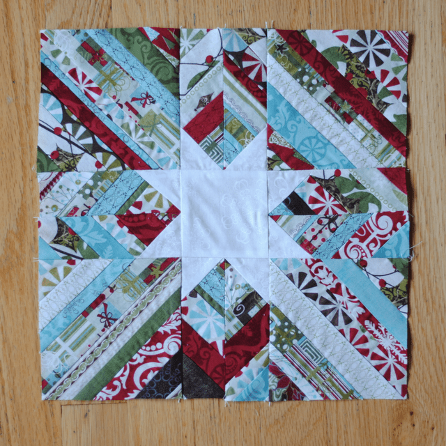 12 Days Of Christmas Block 4 Scrappy Star Sew Sweetness
