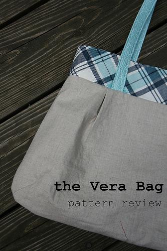 purse palooza    pattern review  green bee vera bag