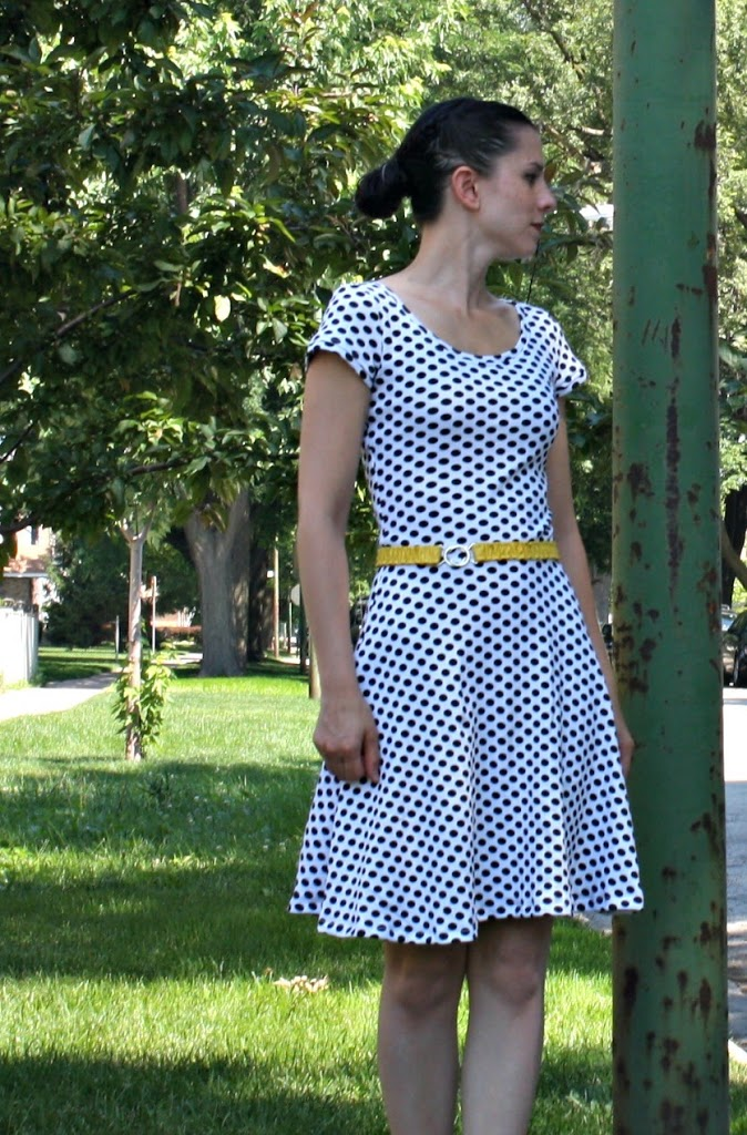 Lady Skater Dress - Sew Sweetness 2a90b942b