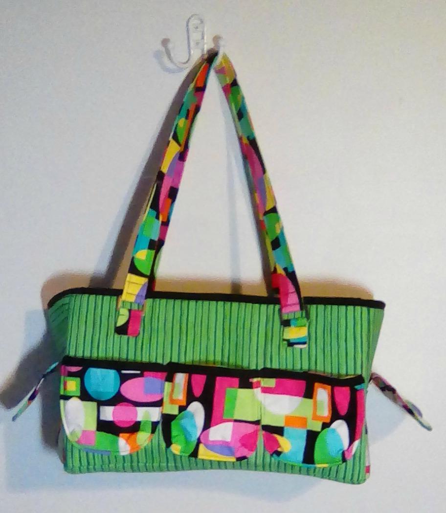 cbdcb7926 Sew Sweetness Oslo Craft Bag sewing pattern, sewn by Becky