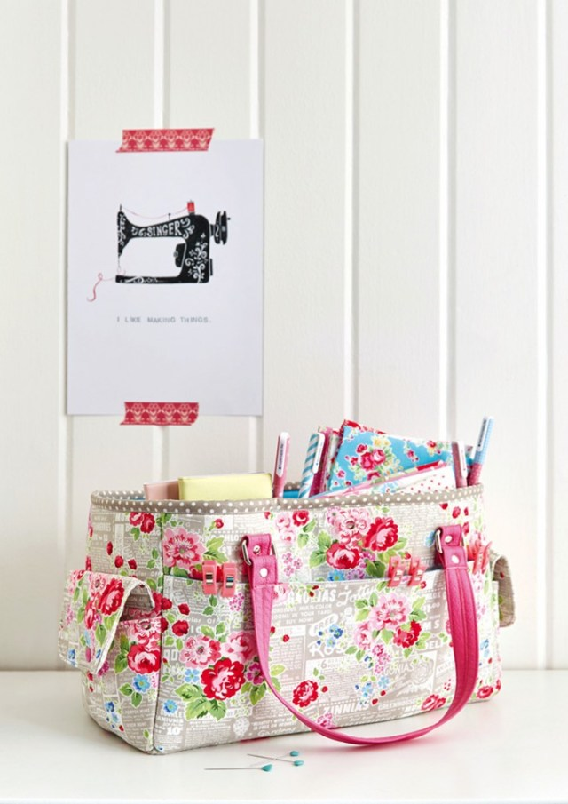 FREE Oslo Craft Bag pattern - Sew Sweetness