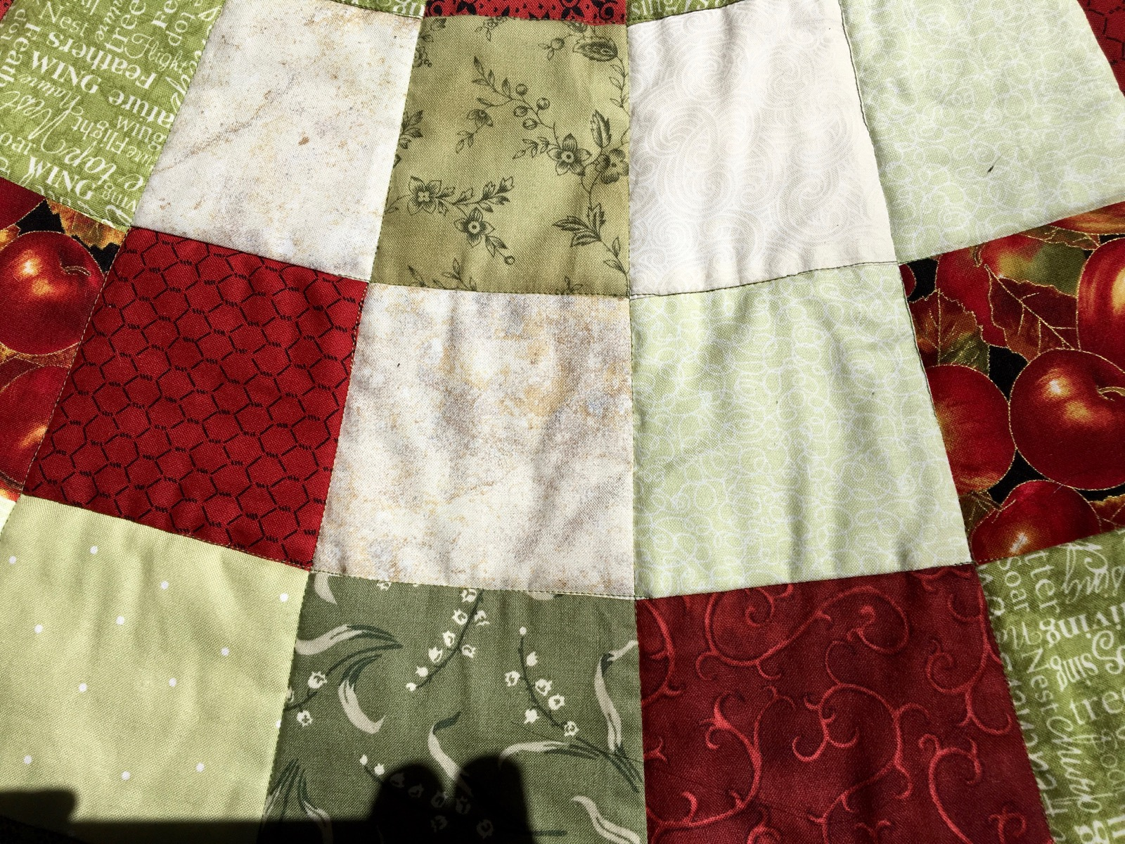 Quilted Christmas Tree Skirt Pattern