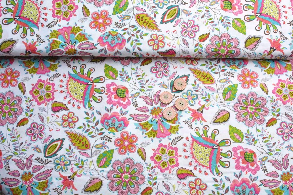 Stoffpaket Blütentraum