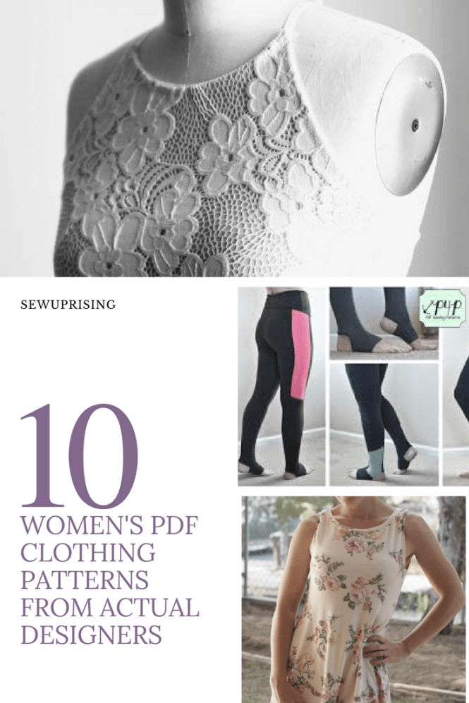 10 Free Sewing Patterns From Real Pattern Companies
