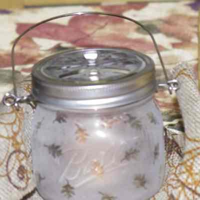 Create a Decorative Candle Holder