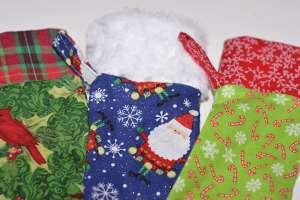 Three Christams Stockings - Easy to Sew Christmas Stockings