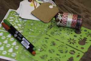 What you will need: Super simple Christmas gift tags