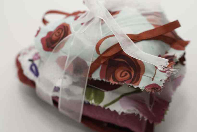 Stack of Sachet for DIY Heart Sachet