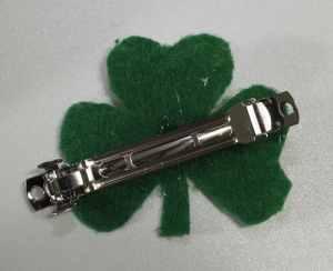 Back of Barrett, Easy St. Patrick's Day Barrett