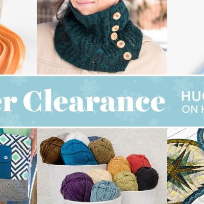 Craftsy's Winter Clearance