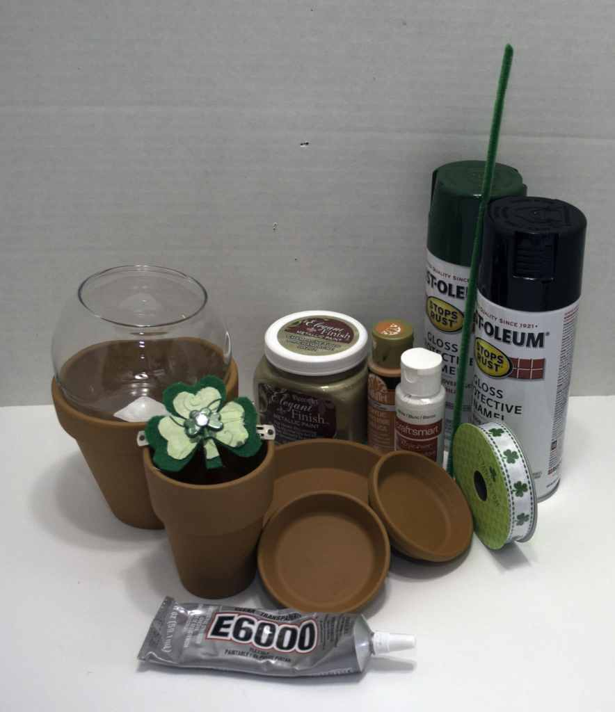 What-you-need-St.-Pats-Gumball-884x1024 How to make a St. Patrick's Day Gumball Machine