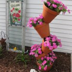 Pink-Flower-Topsy-Turvy-150x150 Tipsy Topsy Turvy Garden Pots