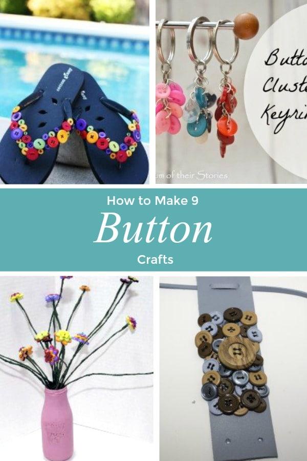 Button-Crafts1 Springtime Button Bonanza