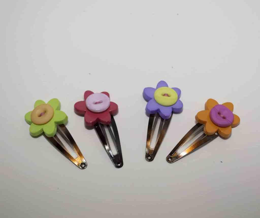 Button-Hair-Clips-1024x859 Springtime Button Bonanza