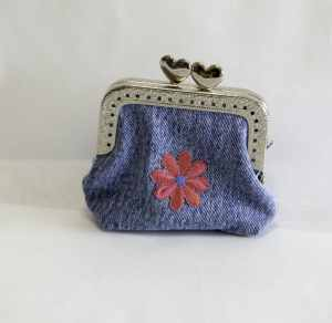 Jeans Coin Purse, Create New looks from Old Jeans