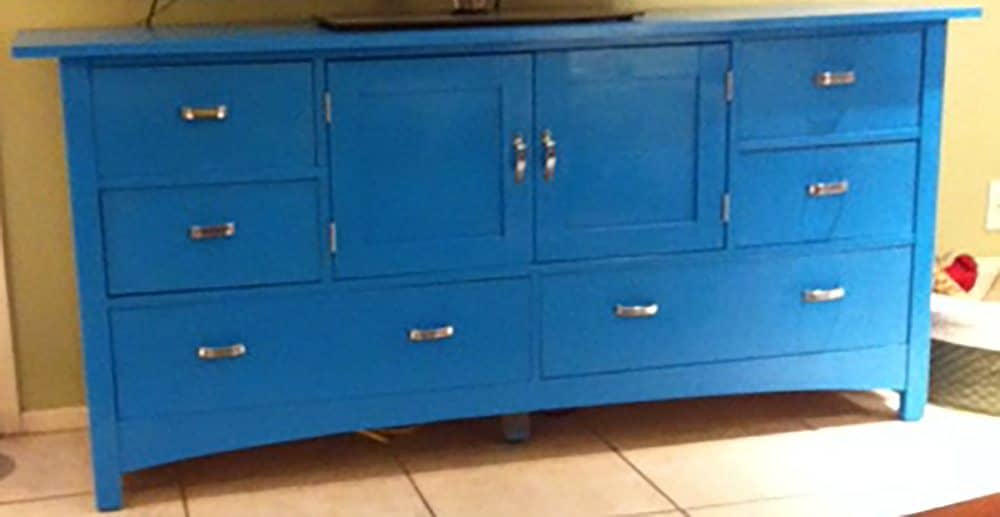 Redone-Cabinet-3 Transform Dated Furniture Using Paint