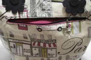 Outer Zippered Pocket, Travel Inspired Tote