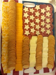 Cheese-Tray-225x300 July 4th Party Fun