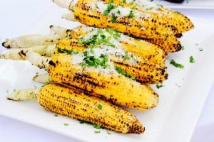 Chargrilled Corn With Chili Lime Butter, July 4th Party