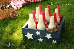 Ring Toss, July 4th party