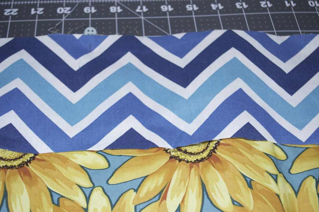 Sew Binding to Blanket, Perfect Picnic Patterns
