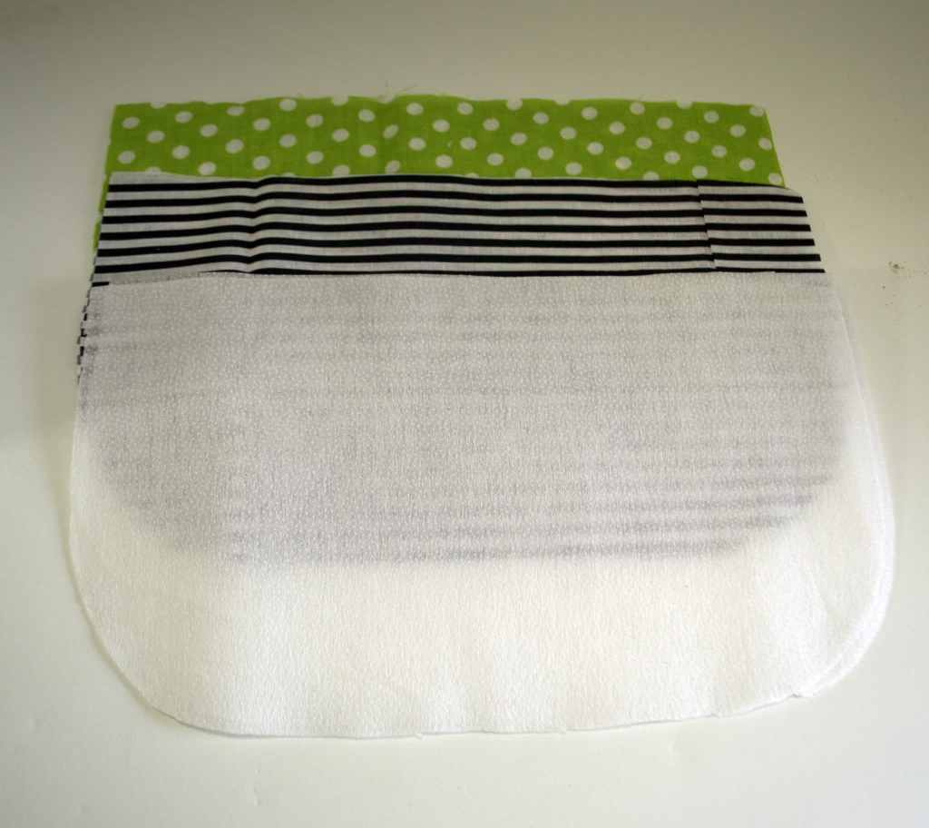 DIY Pleated Makeup Bag