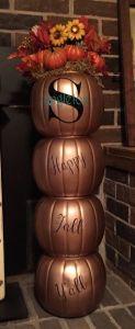Pumpkin Topiary, Thanksgiving around the web