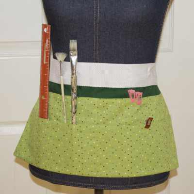 How to Make an Easy DIY Crafting Apron