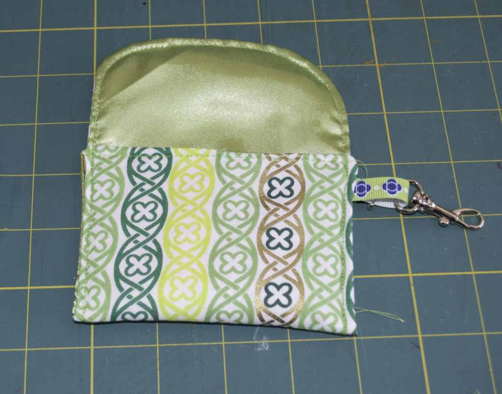 St. Patrick's Day Padded Pocket Rosary Pouch