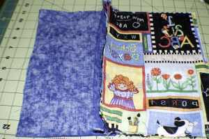 Sew-the-outer-fabrics-together-300x200 DIY Three Ring Binder Pencil Case