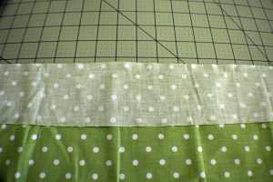 Sew-the-two-pieces-together-300x200 How to Make a Zippered Flanged Pillow