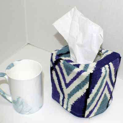 Make a Fabric Tissue Box Cover
