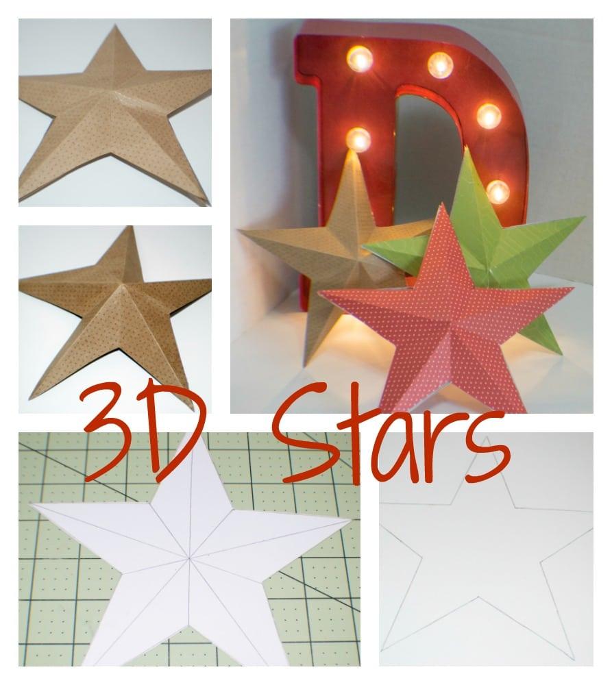 Three Dimensional Stars