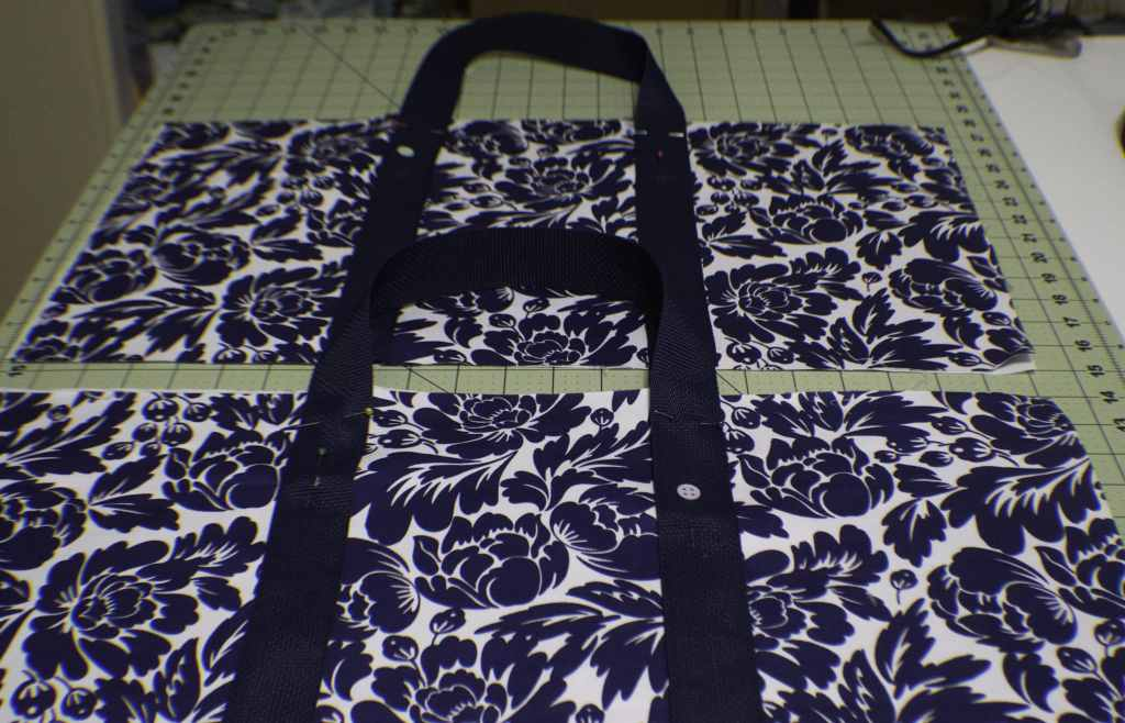 Add-the-Handles-1024x658 Sew a Basic Tote Using Remnants