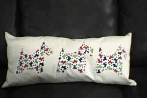 Christmas Applique Pillow