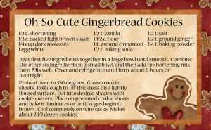 gingerbread-recipe-300x185 48 Christmas Crafts from around the Web