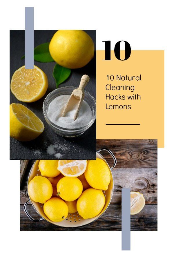 10-Lemon-Cleaning-Hacks 10 Natural Cleaning Hacks with Lemons
