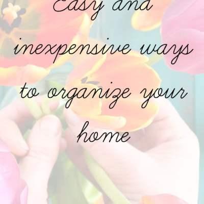 16 Organizing Tips