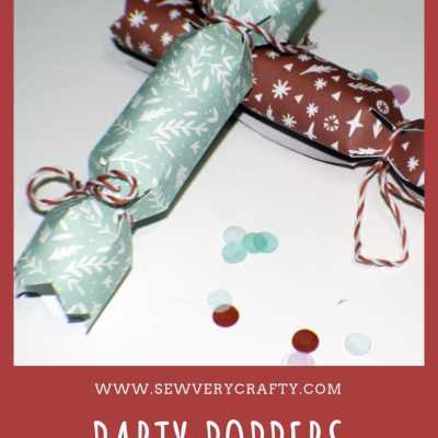 Mini Party Poppers