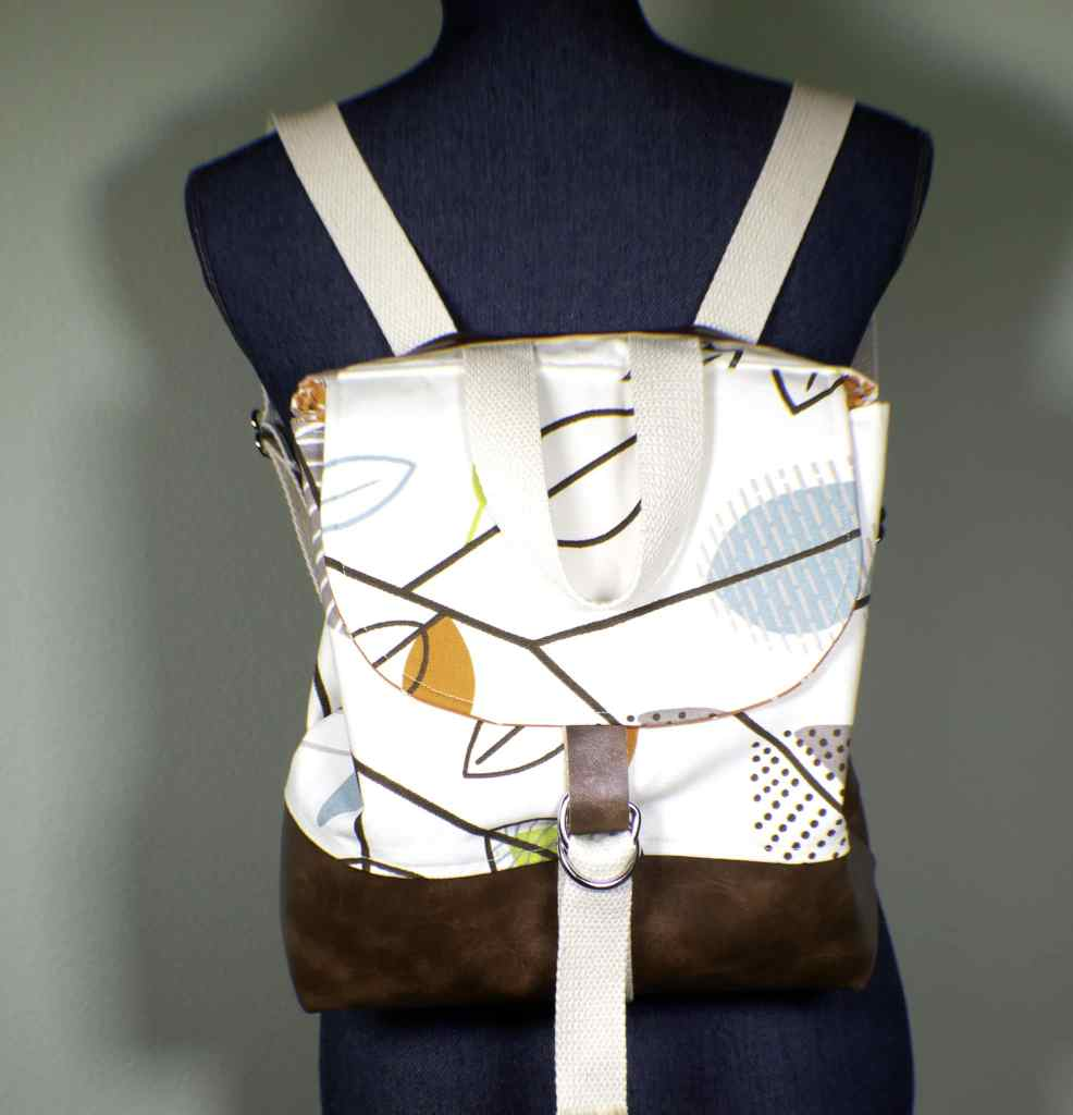 How to make a diy backpack purse