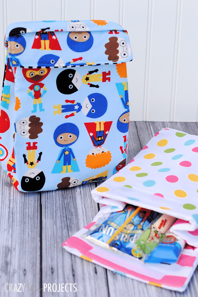 Kidslunchboxpatternandtutorial 10 Things to Sew for Back to School