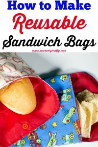 How to make Reusable Sandwich and snack bags